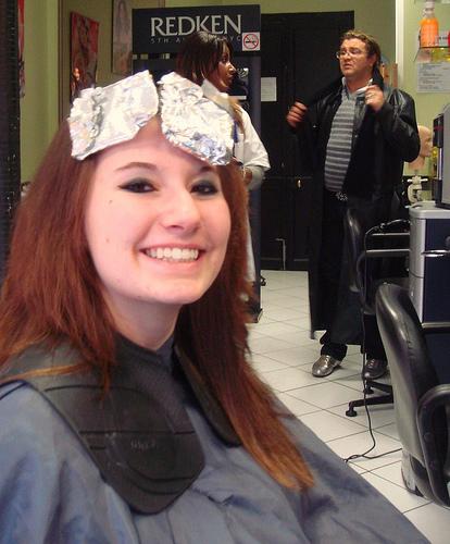 Client with color foils