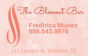 once again make your design fit your salon and your clientele - Hairstylist Business Cards