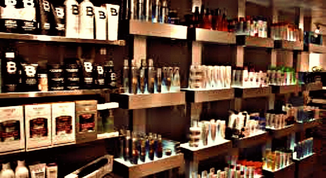 Salon Product Display Ideas